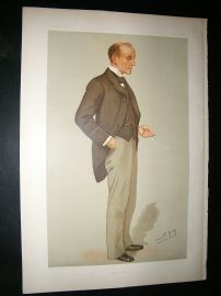 Vanity Fair Print: 1895 Anthony Hope Hawkins, Literary